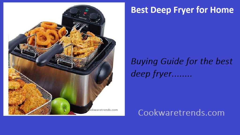 Best Deep Fryer for Home