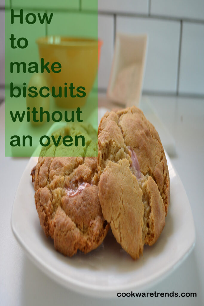 How to make biscuits without an oven
