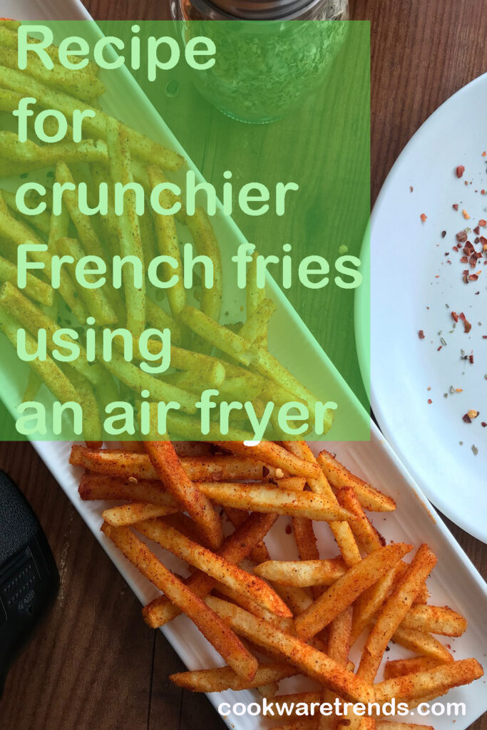 How to use an air fryer for fries