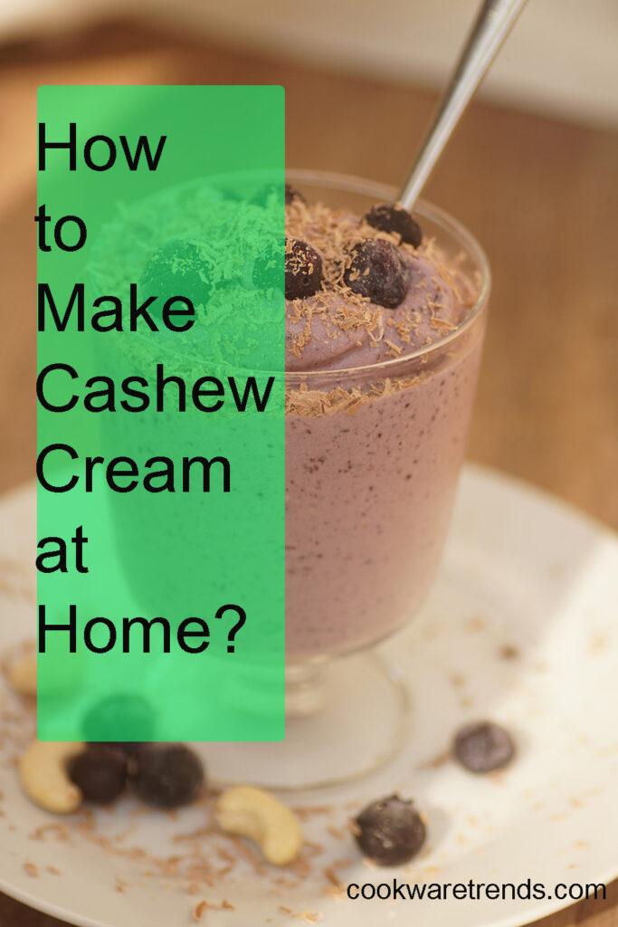 best blender for cashew cream