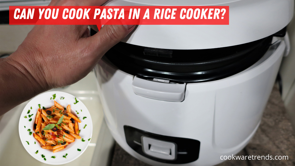 Can you cook pasta in a rice cooker